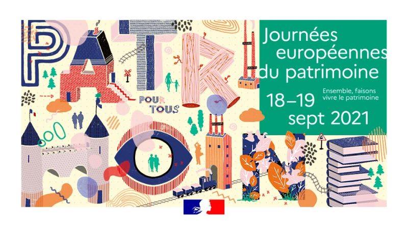 Journée du patrimoine le 18 septembre 2021